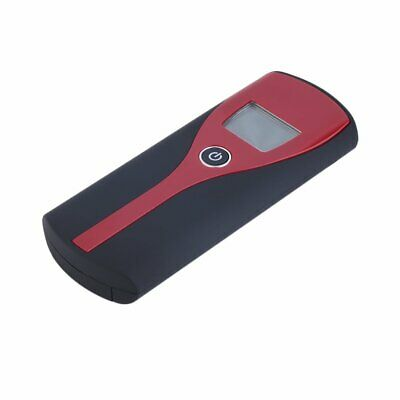 Police Digital Alcohol Breath Tester Analyzer Detector Breathalyser Test LCD FJ