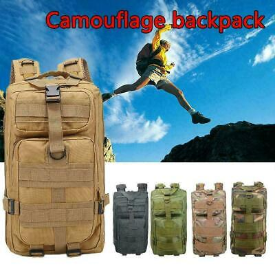 30L Sport Useful Military Rucksacks Tactical Molle Backpack Camping Hiking A2H7