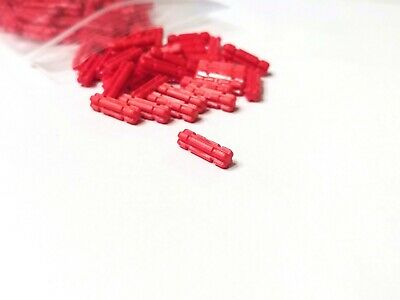 NEU//NEW Connector Pins Red 32054 Lego Technic 10 x Verbinder mit Stop rot