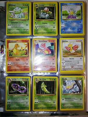 Pokemon: Lotto 108 carte Set base Jungle Fossil Comuni non comuni, no Charizard