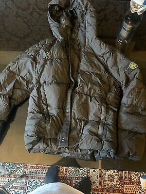 Stone Island Boys Junior Down Coat Jacket Age 10