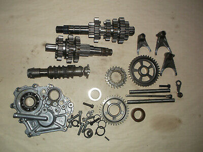 2009 KAWASAKI VERSYS 650 Complete Transmission Assembly Gears, Shift Forks, Drum