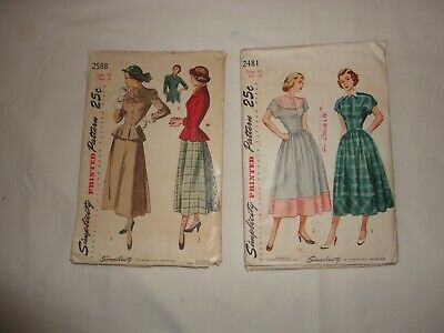 Country Dress Sewing Pattern with  antique fabric for a girl of 1930/'s  #7