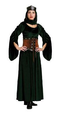 Adult Winter Queen Maid Marion Medieval Renaissance Costume
