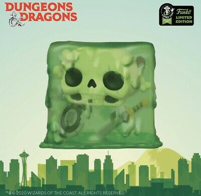 Funko Pop Games ECCC SHARED Exclusive Dungeons & Dragons Skull Presale