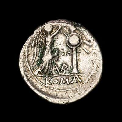 *Lucernae* Anonymous Victoriatus Victory crowning trophy VB Uncertain 211-08 BC