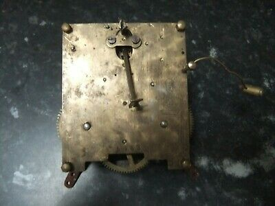 Vintage Clarion Chiming Clock Movement, Spares, Repair, Steampunk