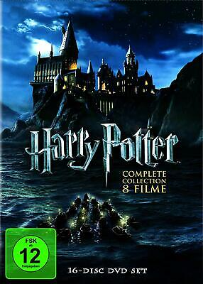 Harry Potter Komplettbox Complete Collection 16 DVD Box Set all H1- 8 Pieces New