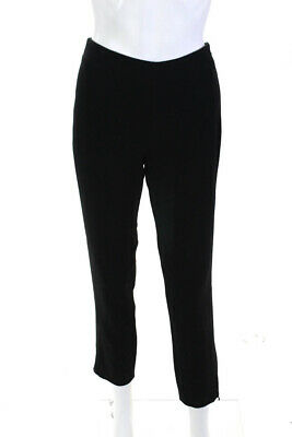 KaufmanFranco Womens Midrise Skinny Zipper Pants Black Size 6