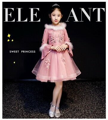 Childrens Kids Girls Formal Elegant Chinese Traditional Oriental Dress Gown