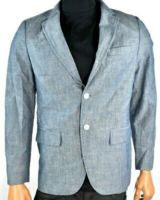 Tasso Elba Mens Sports Coat Jacket Blazer Suit New S Gray Party Summer