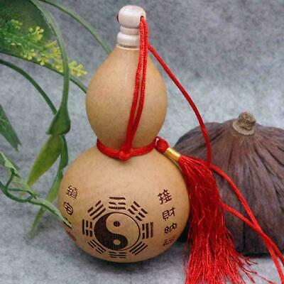 1x Home Crafts Potable Natural Real Dried Bottles Gourd Decoration H0Y8 Orn J3R1