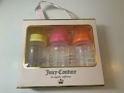 Juicy Couture Baby Bottles  3 pack 11 oz- NEW