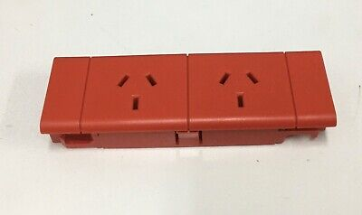 CMS Electracom Dual Auto Switched Power Standard Module SW18-02 CSO2352V RED