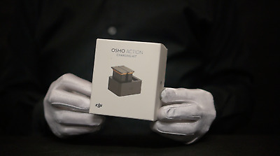 Genuine DJI Osmo Action Charging Kit Boxed - 'The Masked Man'