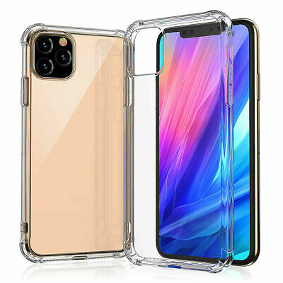 Case For iPhone 11 Pro XR XS 7 8 6 ShockProof Soft Phone Covr TPU Silicone Cover