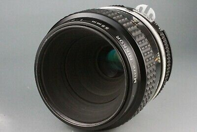 Excellent Nikon Micro NIKKOR 55mm F/3.5 Ai MF Macro Lens From Japan 1014993 #52