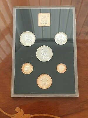 1971 UK Proof Set Of Decimal Coins 1st Examples Of These Coins