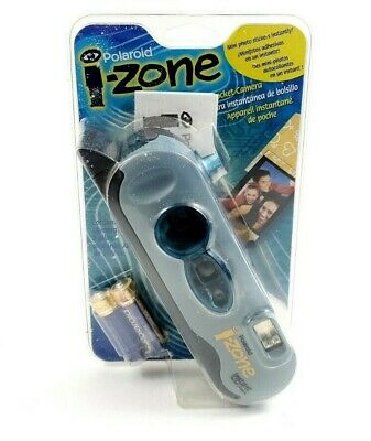 Polaroid i-Zone Pocket Instant Camera Light Blue Edition