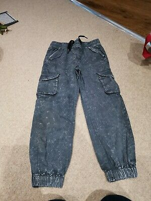 Boys Primark Cargo Trousers Age 6-7 Years