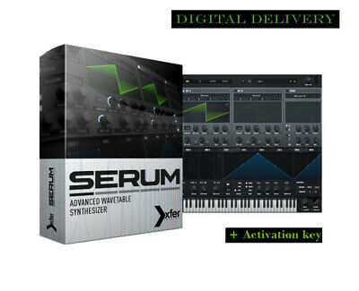 Serum VST Plugin + Activation Key for Windows  Fast eDelivery - Download