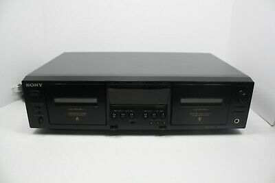 Sony Tc-We475 Professional Stereo Dual Cassette Deck Player Recorder—Tested!!
