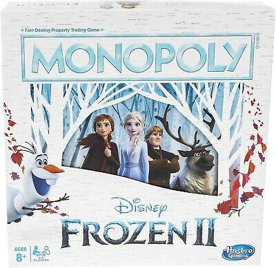 Monopoly Game Disney Frozen 2 Edition Board Game for Ages 8 & Up