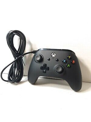Enhanced PowerA Wired Controller for Xbox One & Windows 10- black -model 1505660