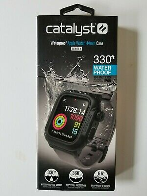 Catalyst - Protective Waterproof Case for Apple Watch44mm - Space Gray