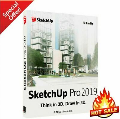Sketchup Pro 2019 ✔ Lifetime activation For Windows & MacOS 💥 FULL VERSION 💯