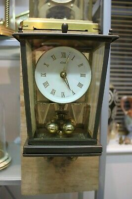 Rare Unusual Kundo Anniversary Clock 400 Day clock torsion clock & Bracket