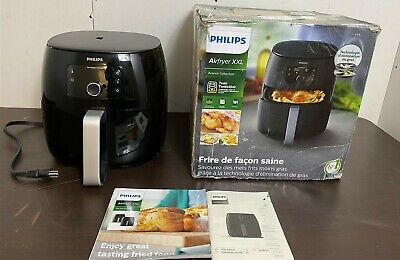 Philips Premium Digital Airfryer XXL with Fat Reduction Technology, HD9650/96
