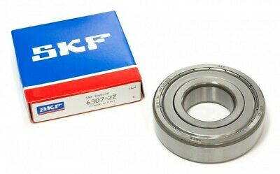 Deep Groove Ball Bearing Shielded End Type Parallel Bore Steel 35x80x21mm SKF