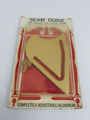 Vintage Risdon Metal Seam Guide for straight/curved seams fits any machine