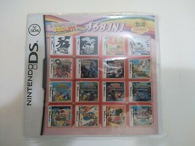 468 in 1 Game Cartridge Multicart SD Cart  Nintendo DS NDS NDSL NDSi 2DS 3DS US
