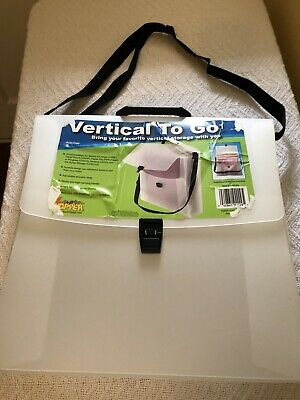 """Cropper Hopper Expandable 13"""" X 13"""" Vertical To Go- Holds 12 X 12 Paper"""