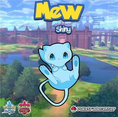 Pokemon Sword And Shield Shiny Mew 6Ivs Max Evs