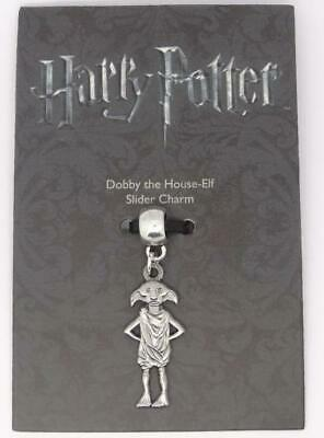 New Official Genuine Harry Potter Silver Plated Dobby The Elf Slider Charm
