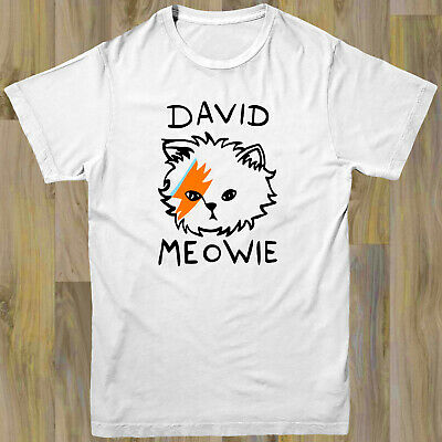 DAVID BOWIE LADIES MUSIC T SHIRT GLAM ROCK NEW TOP GIFT W10