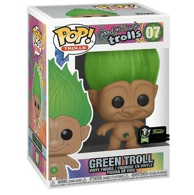 Funko Pop Green Good Luck Troll ECCC SHARED Exclusive Presale
