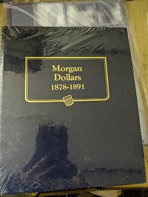 Whitman Classic Coin Album # 9128 For Morgan Dollars From 1878-1891