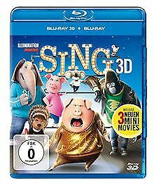 Sing [3D Blu-ray] by Jennings, Garth | DVD | condition very good