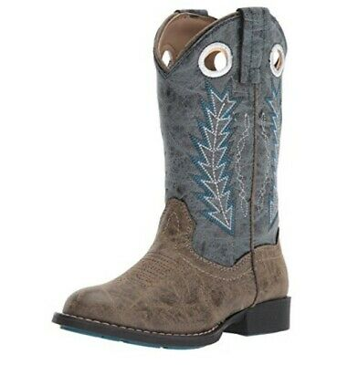Boys/Girls Hole In The Wall Western Boots New