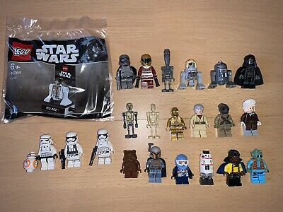 Konvolut 23 Original Lego Star Wars Minifiguren - Lego Minifigs Rar und TOP!