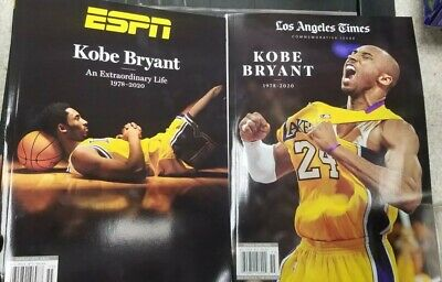 Kobe Bryant - ESPN & L.A Times -Special Edition 2020 Tribute Issue
