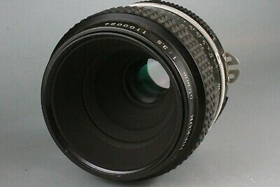 Excellent Nikon Micro NIKKOR 55mm F/3.5 Ai MF Macro Lens From Japan 1100084 #59