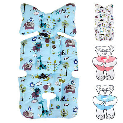 Cartoon Print Baby Stroller Seat Covers Soft Pram Car Seat Cushion Pad Universal