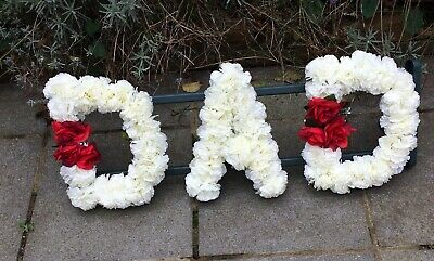 DAD FLOWER FUNERAL Letter Tribute
