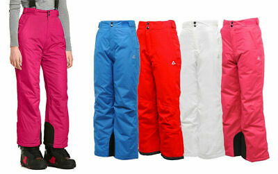 Dare2b Boys Girls Kids Turnabout Waterproof Breathable Ski Trousers Salopettes