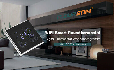 Floureon C17.GH3 Touch screen digitale programmabile con termostato Wi-Fi
